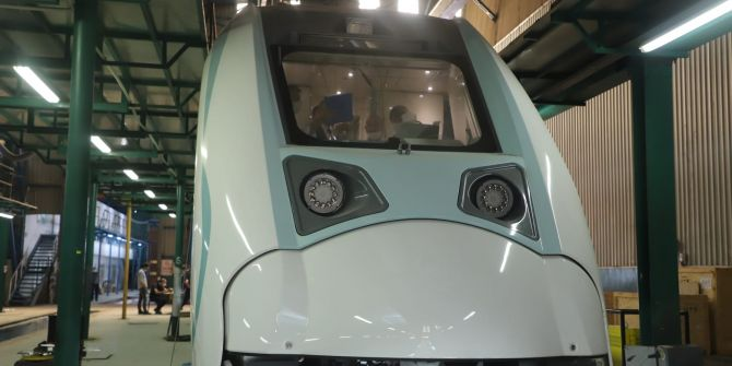 Milli Elektrikli Tren, 29 Mayıs'ta hizmete girecek!