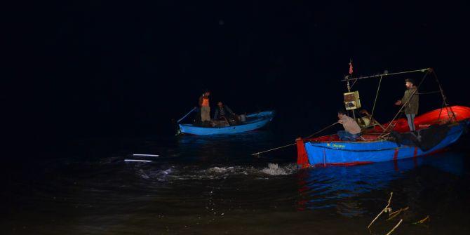 Samsun'da denize batan cipten 2 kişi kurtarıldı!