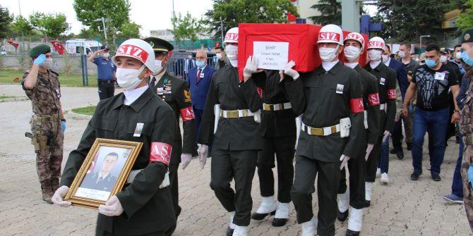 Şehit Piyade Teğmen Canbert Tatar, memleketinde son yolculuğuna uğurlandı!