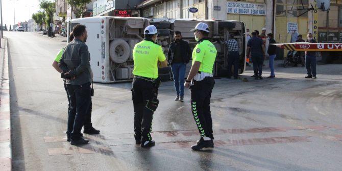 Karaman'da korkunç kaza! 11 yaralı