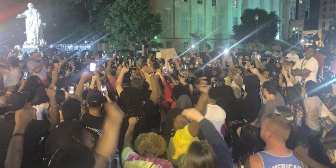 ABD'de polis protestoculara karşı ateş açtı! 7 yaralı