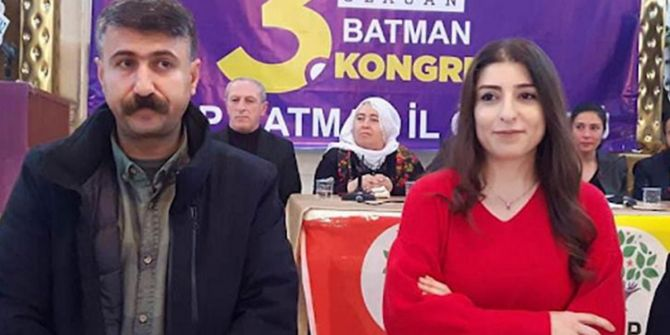 HDP Batman il binasına yapılan baskında İl başkanları gözaltına alındı!