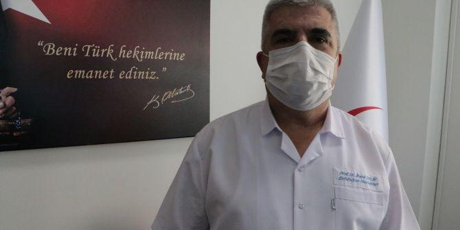 Prof. Dr. İlhami Çelik açıkladı! ''Bulaştırmayı engellersek ikinci dalga gelmeyecek''