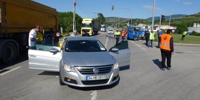 Samsun'da korkunç kaza! 3 yaralı