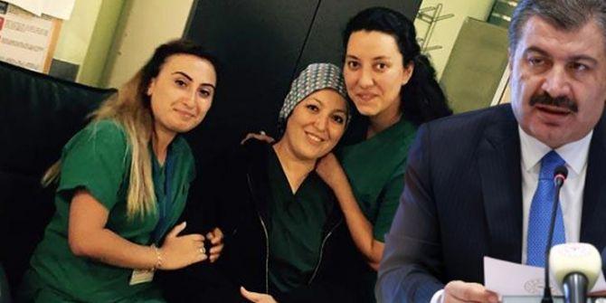 Sağlık Bakanı Fahrettin Koca acı haberi verdi! Dilek Hemşire hayatını kaybetti