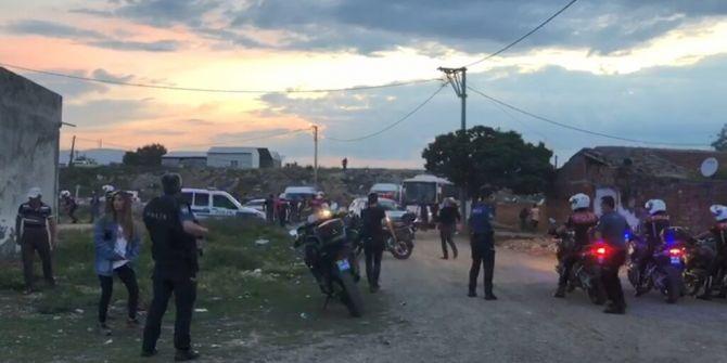 Bursa'da silahlı çatışmada 1 polis şehit oldu!