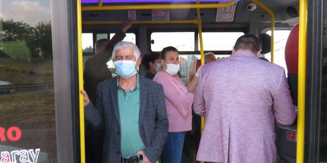 Esenyurt'taki minibüs denetiminden akıl almaz görüntü! İçinden 35 yolcu çıktı