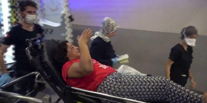 Adana'da korkunç olay! Kadını önce dövüp sonra seyir halindeki araçtan attı