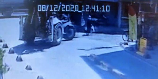 Şişli'de kepçe dehşeti! 57 yaşındaki kadını yere savurdu