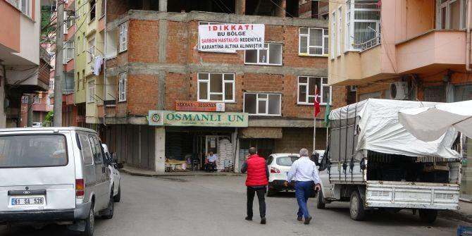 Trabzon'da şarbon vakası! 1 mahalle karantinada