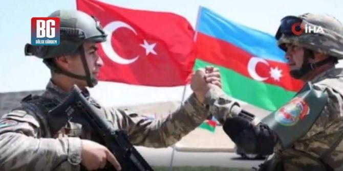 MSB'den Azerbaycan'a ''Yanınızdayız'' mesajı!