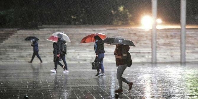 28 - 29 - 30 Ekim hava durumu 2020 Gök gürültülü sağanak yağışlar geliyor!