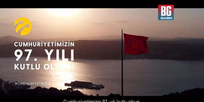 Turkcell'den 29 Ekim Cumhuriyet Bayramı'na özel klip!