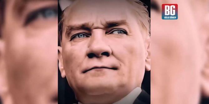 Atatürk'ün en net sesi ve görüntüleri sosyal medyada büyük yankı uyandırdı!