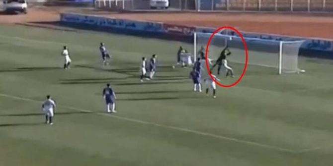 İran'da Nader Mohammadi'nin attığı gol maça damgasını vurdu!