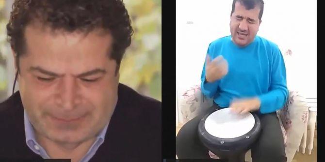 Cüneyt Özdemir, Bilal Göregen'in söylediği şarkıda gözyaşlarını tutamadı!