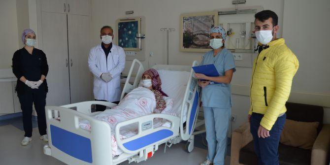 Baş ağrısı şikayetiyle gittiği hastanede 4.5 santimlik tümörü görünce şok oldu!