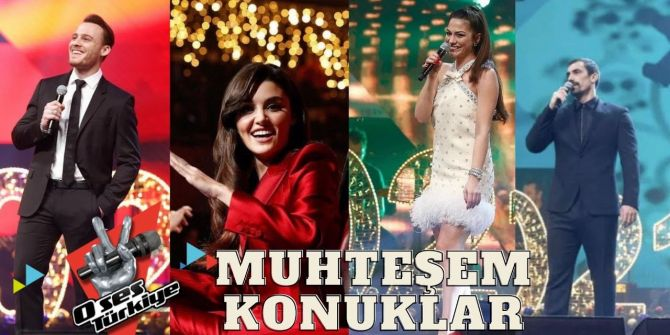 O Ses Türkiye yılbaşı özel 2021 fragmanı yayınlandı! Efsane ünlülerle eğlence doruğa çıkacak