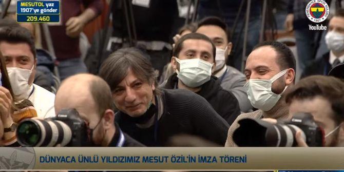 Cüneyt Kaşeler'in Mesut Özil tweeti imza töreninde gündem oldu!