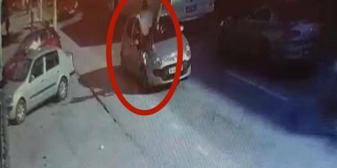 Yola atlayan kadın aşırı hızın kurbanı oldu!
