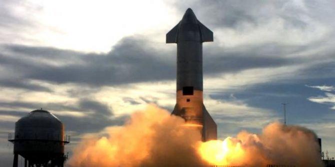 Elon Musk'ın Mars hayali olan Starship aracı bomba gibi patladı!