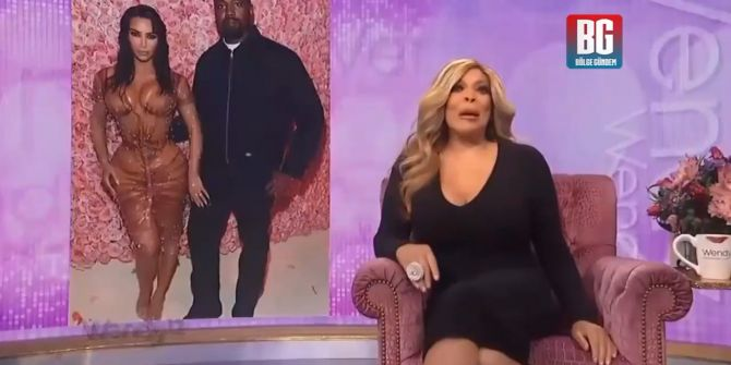Wendy Williams'tan Kim Kardashian haberinde mide bulandıran kaza!