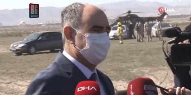 Konya Valisi Özkan'dan düşen NF-5 uçağı hakkında açıklama!