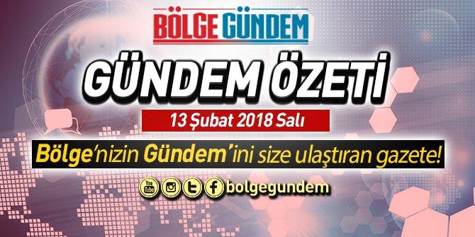 13 Şubat 2018 gündem özeti | Enis Berberoğlu'nun cezası açıklandı!