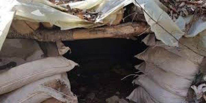 Mehmetcik terör örgütünün 8 katlı inini buldu ve dağıttı